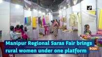 Manipur Regional Saras Fair brings rural women under one platform
