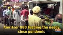 Amritsar NGO feeding the needy since pandemic