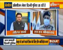 Delhi Police Commissioner SN Srivastava speaks on how the police is helping people amid Covid crisis