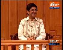 Former IPS officer Kiran Bedi in Aap Ki Adalat