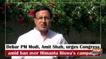 Debar PM Modi, Amit Shah, urges Congress amid ban over Himanta Biswa