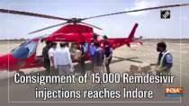 Consignment of 15,000 Remdesivir injections reaches Indore