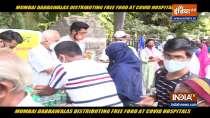 Mumbai Dabbawala distributes food outside hospitals, Watch special report