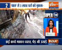 Super 100: 4 dead, more than 20 lakh evacuated because of Cyclone Yaas