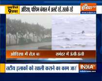 Top 9 News: People were evacuated by NDRF in East Medinipur district, ahead of Cyclone Yaas
