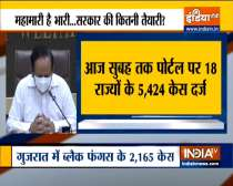 Till now, 5,424 cases of Mucormycosis reported in 18 States/UTs, says Health Minister Dr. Harsh Vardhan
