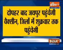 No vaccination for 18+ age in Rajasthan today