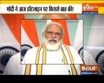 PM Modi lauds efforts of armed forces in fight against Covid