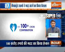 Super 100 | Mankind Pharma to donate Rs100 crore to families of deceased COVID warriors