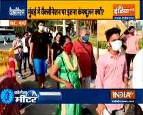 Covid-19 : Long queues in Mumbai and Delhi for vaccination amid virus surge