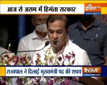 BJP leader Himanta Biswa Sarma took oath as Chief Minister of Assam