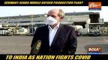 Germany sends mobile oxygen production plant