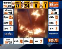 Bengal Poll Results: BJP office gutted in fire in West Bengal