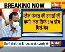 Around 600 black fungus cases reported in Delhi so far: Satyendar Jain