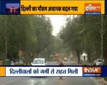 Thunderstorm, light rain bring temperature down in Delhi-NCR