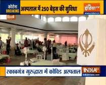 Delhi: 250-bed Covid facility at Gurudwara Rakabganj to open soon