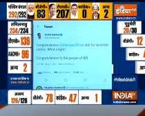 Delhi CM Arvind Kejriwal congratulates Mamata Banerjee as TMC set to form govt again