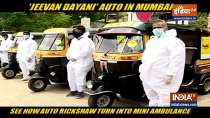 Mumbai: Watch How Auto rickshaw turn into Mini Ambulance to help citizens amid Covid-19 Crisis