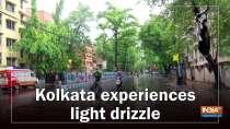 Kolkata experiences light drizzle