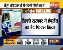 Delhi Government Caps Ambulance Rates For Covid Patients