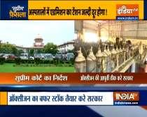 Resolve Delhi's oxygen crisis in 2 days, Supreme Court tells Centre