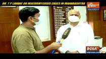 Dr TP Lahane on Mucormycosis cases in  Maharashtra