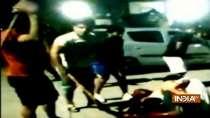 Sushil Kumar along with friends seen attacking wrestler Sagar Dhankar, who died later