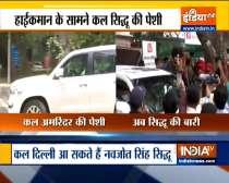 Navjot Sidhu will meet Congress High Command tomorrow
