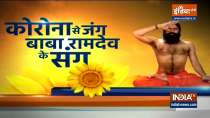 People suffering from headache after corona, know how to get rid of it from Swami Ramdev