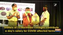 Staffers of 13 Northeast colleges contribute a day