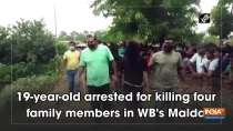 19-year-old arrested for killing four family members in WB