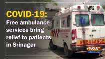 COVID-19: Free ambulance services bring relief to patients in Srinagar