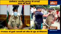 Aligarh: Police Sub-Inspector Saves Drowning Man from Gang Nahar canal