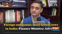 Foreign companies must follow laws in India: Finance Ministry Advisor