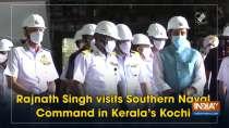 Rajnath Singh visits Southern Naval Command in Kerala