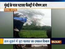 Maharashtra: Fire breaks out at cracker factory in Palghar