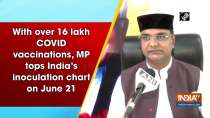With over 16 lakh COVID vaccinations, MP tops India