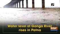 Water level of Ganga River rises in Patna