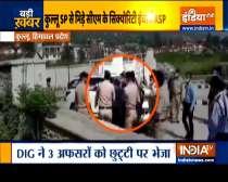 Watch: Scuffle between Kullu SP and Himachal CM
