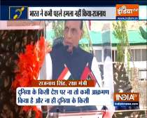 Special News   India always ready to give befitting reply if provoked: Rajnath Singh