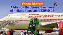 Vande Bharat: A Mission that brought millions of Indians home amid Covid-19