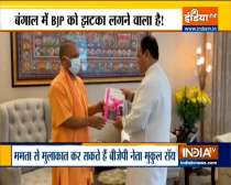 Uttar Pradesh chief minister Yogi Adityanath meets BJP president JP Nadda