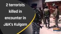 2 terrorists killed in encounter in J&K