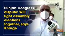 Punjab Congress dispute: Will fight assembly elections together, says Kharge