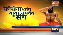 Swami Ramdev shares yogasanas and pranayamas to cure asthma
