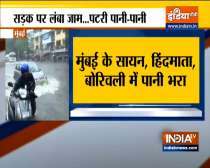 Mumbai: Due to heavy rains & waterlogging local train services suspended