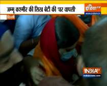 Abducted Sikh girl visits Bangla Sahib Gurudwara after her return from Jammu