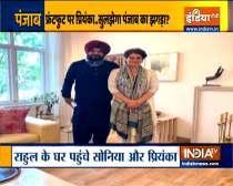 Ground Report   Navjot Singh Sidhu meets Priyanka Gandhi amid tension with Capt Amrinder Singh