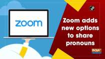 Zoom adds new options to share pronouns