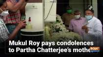 Mukul Roy pays condolences to Partha Chatterjee
